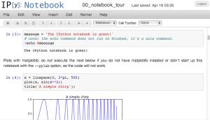 Wakari permite trabajar en la nube con IPython notebook