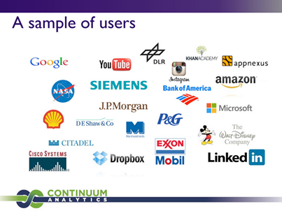 Empresas que usan Python